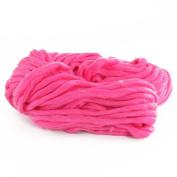 Multiware Christmas Thick Bulky Wool Yarn Acrylic Soft Chunky Knitting Yarn Rose red