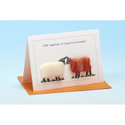 Vanessa Bee Just Keeping in Touch with Ewe Greeting Card