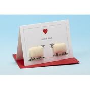 Vanessa Bee I Love Ewe Greeting Card