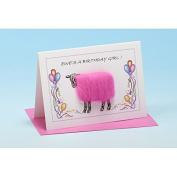Vanessa Bee Ewes a Birthday Girl Greeting Card