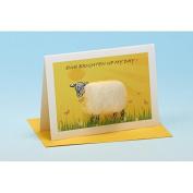 Vanessa Bee Ewe Brighten Up My Day Greeting Card