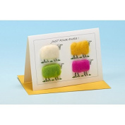 Vanessa Bee Just Four Ewes Greeting Card