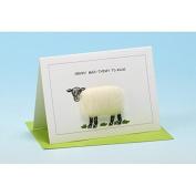Vanessa Bee Happy Baa-thday to Ewe Greeting Card White