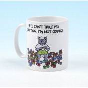 Vanessa Bee If I Cant Take My Knitting Knitters Mug