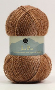 DY Choice LA PAZ Aran Knitting Yarn MOHAIR & ALPACA 100g 03 Cocoa