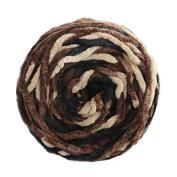 Celine lin One Skein Super Soft Baby Blanket Big Warm Ball Yarn Knitting Yarn,Multi-colored72