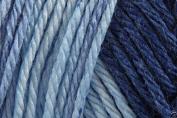 Caron Simply Soft Ombre Acrylic Aran Knitting Wool Yarn 113.4g -8114 Blue Jeans