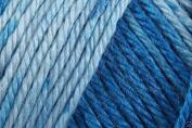 Caron Simply Soft Ombre Acrylic Aran Knitting Wool Yarn 113.4g -8134 Oasis Blue