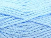 Hayfield Baby Knitting Yarn Chunky 409 Bouncy Blue - per 100 gramme ball