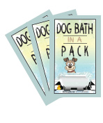 DOG BATH IN A PACK -NEW- Bath and Grooming Wipes