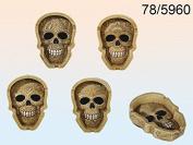 "'Ashtray ""Ornament Skull ~"