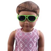 Doll Glasses, Hotsellhome Stylish Plastic Frame Glasses Sunglasses for 46cm American Girl Doll