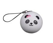 Cute Panda Cartoon Face Squishy Cell Phone Hang Rope Straps Charms Random Patten