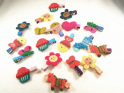 5 Children's Hair Clip with Various Design