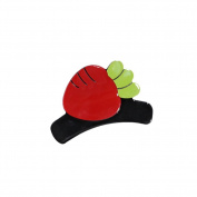 BIGBOBA 1PCS Cute Fruit Hair Clip Claw Clamps Hairpin Hairhand Jewellery Hair Styling Accessories Hair Decoration For Women Girls Carrot