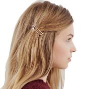 Profusion Circle Women Girls Unique Pin Shape Hair Clip Hairpin Charm Hair Ornament