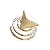 Hair Pin - Sukisuki Fashion Shiny Heart Moon Star Shape Women Hair Ornament Charm Gift size Triangle