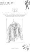 Erika Knight Fur Wool Knitting Pattern Fur Jacket Super Chunky