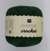 RICO ESSENTIALS CROCHET - 50g 26 Deep Fir Green