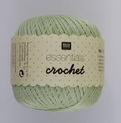 RICO ESSENTIALS CROCHET - 50g 23 Mint Green