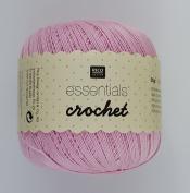 RICO ESSENTIALS CROCHET - 50g 21 Pale Pink