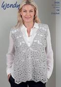 Wendy Ladies Top Crochet Pattern 5926 DK