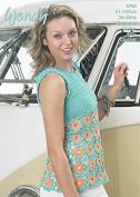 Wendy Ladies Top Supreme Crochet Pattern 5766 DK