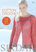 Sirdar Crochet Pattern Book Cotton Crochet 499 4 Ply, DK