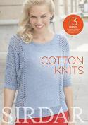 Sirdar Knitting Pattern Book Cotton Knits 498 4 Ply, DK