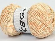 Ice Yarns Cotton Mosaic Light Orange Cream/100g 140 m/Original Turkey