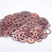 ECYC® 100g Vintage Steampunk Gears Wheels Watch Wheel for Crafting,Jewellery Making Charms