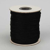 Rattail Cord 3mm Black, priced per 5 metre