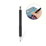 UEETEK Multifunctional 2 in 1 Capacitive Stylus Touch Pen Universal Accurate Touch Screen Sensitive Stylus Pens With Fine Fibre Tips for Touch Screen Smartphones and Tablets