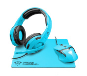 Trust Gaming GXT 790-sb Spectra Gaming 3 in 1 package, Blue