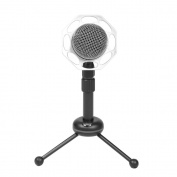 JYCRA 3.5mm Condenser Recording Microphone with Tripod Stand PC Gaming Singing
