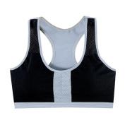 DAYLIN 1PC Women Patchwork Yoga Fitness Stretch Workout Tank Top Racerback Padded Sports Bra