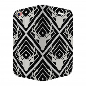 Moose Deer Pattern Full Flip Case Cover For Apple iPhone 7 - S5120