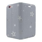 Star Pattern Full Flip Case Cover For Apple iPhone 5 - 5S - SE - S6415