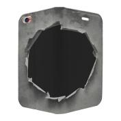 Ripped Art Print Full Flip Case Cover For Apple iPhone 5 - 5S - SE - S6536