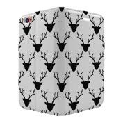 Moose Deer Pattern Full Flip Case Cover For Apple iPhone 7 - S5115