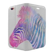 Double Exposure Zebra Full Flip Case Cover For Apple iPhone 5 - 5S - SE - S6473