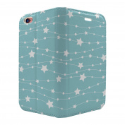 Star Pattern Full Flip Case Cover For Apple iPhone 5 - 5S - SE - S6400