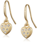 Pilgrim Women Gold Plated Dangle & Drop Earrings - 611732073