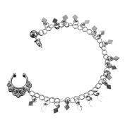 MultiWare gold and silver ear nose and nose chain . style
