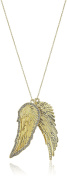 House of Harlow 1960 The Avium Double Gold Pendant Necklace