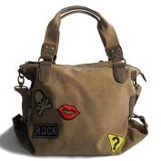 Jennifer Jones - präsentiert von ZMOKA® Women's Shoulder Bag Brown natural