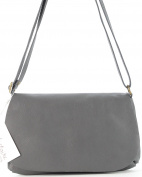 histoireDaccessoires - Women's Leather Shoulder Bag - SA006623GR-Carlo