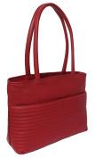 Rowallan Women's Leather Shoulder Bag, Red