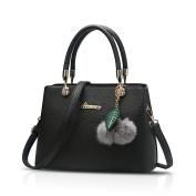 Tisdaini 2018 new ladies handbags fashion handbag simple lycra-pattern PU shoulder diagonal package