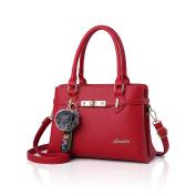 Tisdaini New ladies handbag fashion simple ball pendant handbag shoulder Messenger bag